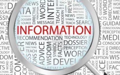 Nguồn thông tin tối thiểu sử dụng trong quá trình thẩm định đơn