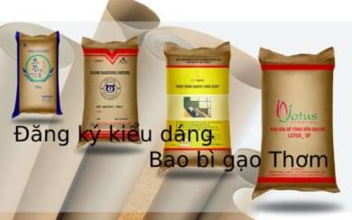 Đăng ký kiểu dáng công nghiệp cho bao bì gạo