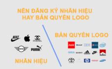 Nên đăng ký nhãn hiệu hay bản quyền logo