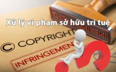 Những lưu ý về xử lý vi phạm quyền sở hữu trí tuệ
